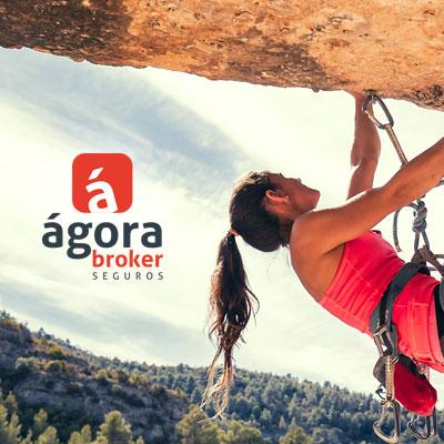 campaña, branding, ágora broker